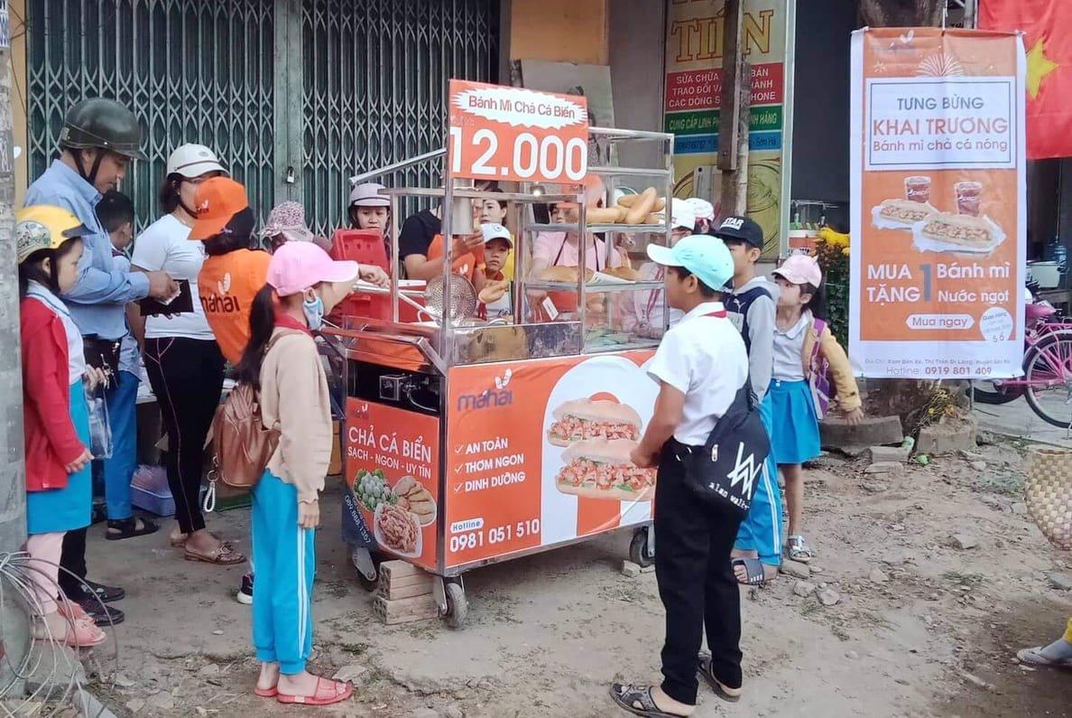 Kinh nghiệm bán bánh mì chả cá 1