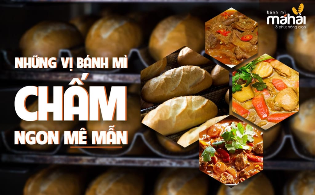 Những vị bánh mì chấm Sài Gòn cực kì ngon mà bạn nên thử.