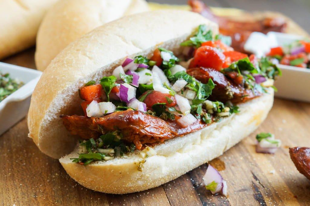 Bánh mì Choripan