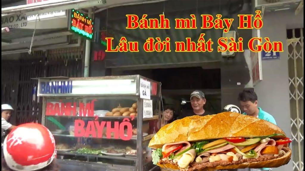 Bánh mì Bảy Hổ nức tiếng Sài Gòn