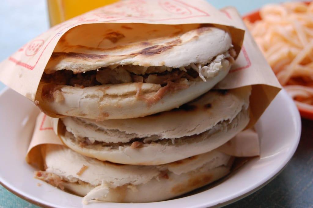 Bánh trứng nướng Shaobing của Trung Quốc